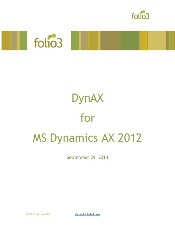 DynAX is a free enterprise mobile Dynamics AX CRM app for Android which completely covers the CRM features from Dynamics AX 2012 R2. It provides field sales an…