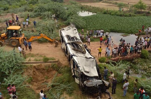 Inde : au moins 29 morts dans un accident d'autocar