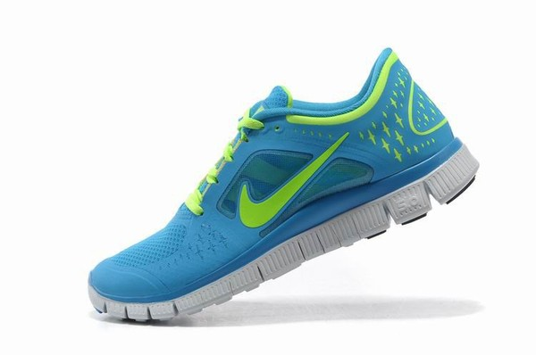 Nike Free Run 3 Women S Running Shoes Blau Volt 49 99