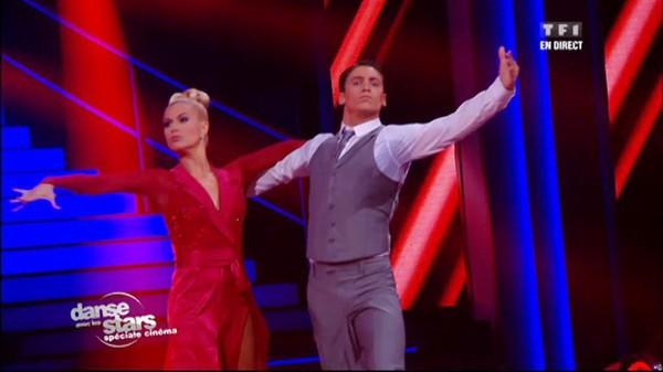 Danse avec les stars - Bastian Baker et Katrina, un paso doble sur la musique de Superman