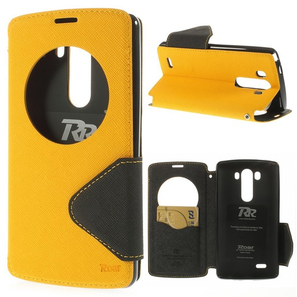 Aliexpress.com : Buy For LG G3 G4 G5 G6 G3mini Leather Case Roar Korea Fancy Diary Quick Circle Leather Flip Cover for LG G3 D850 LS990 FREE SHIPPING from Reliable cover for lg suppliers on GUUDS O...