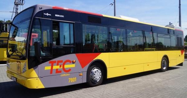 TEC Charleroi: 30 nouveaux bus pour le dépôt Genson
