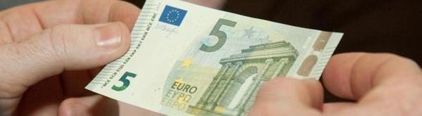 Un nouveau billet de 5 € dès jeudi