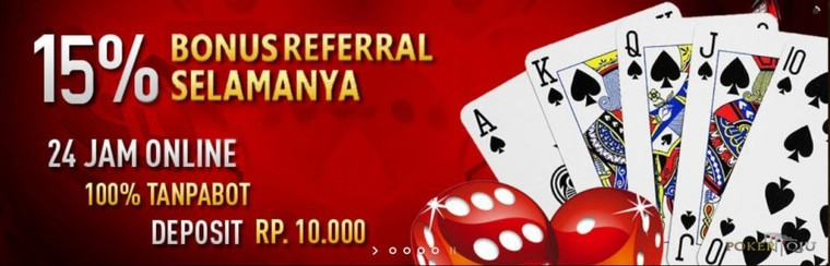 Bonus Referral Capsa Susun Online 2017