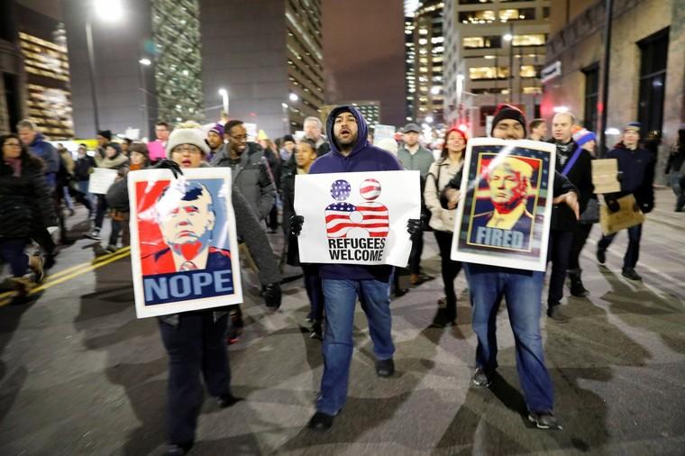 Immigration : Trump, l'épouvantail des «élites» françaises