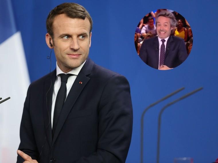 """""""Gros connard"""" : L'équipe de communicationd'Emmanuel Macron déteste Yann Barthès"""