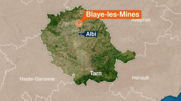 Tarn : accident de car entre Blayes-les-Mines et Carmaux
