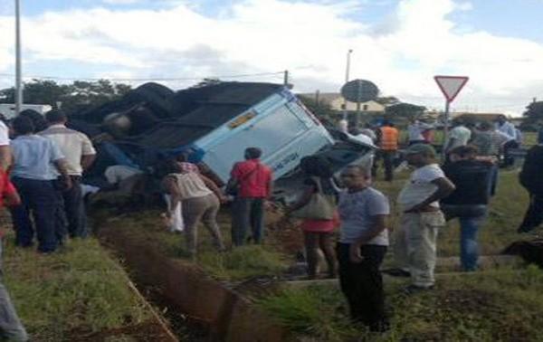 Maurice : Un grave accident d'autobus fait au moins 8 morts