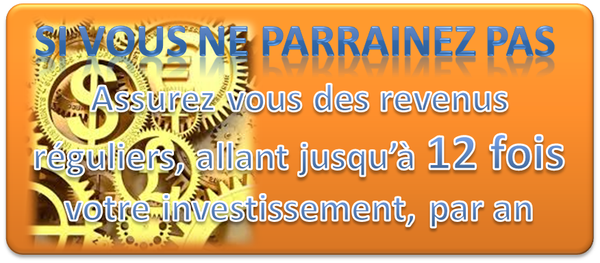 Souscripteurs & Souscriptrices et recevez des royalties mois 500 € ou 2500 € et bien plus...
