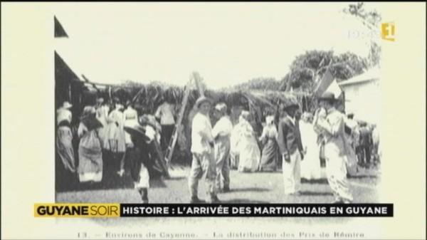 En 1902 la Guyane accueillait les sinistrés martiniquais de l'éruption de la Pelée - martinique 1ère