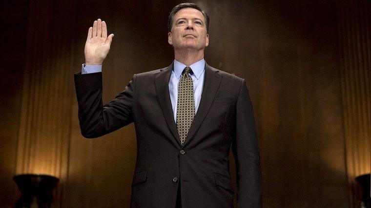 L'ex-chef du FBI limogé par Donald Trump accepte de témoigner publiquement au Sénat