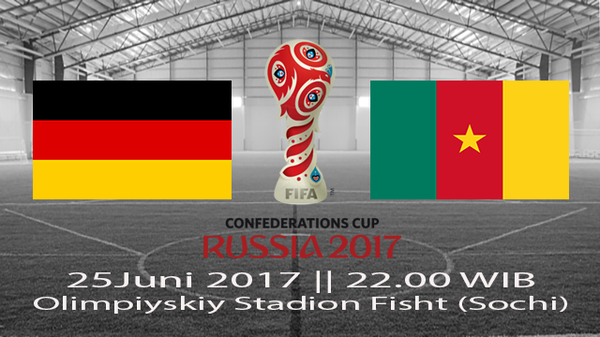 Prediksi Jerman vs Kamerun 22 Juni 2017