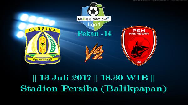 Prediksi Persiba vs PSM 13 July 2017 Liga 1 Indonesia