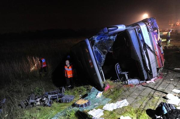 Accident mortel à Loon-Plage: «ce que nous savons, c'est que le bus roulait à une vitesse excessive»