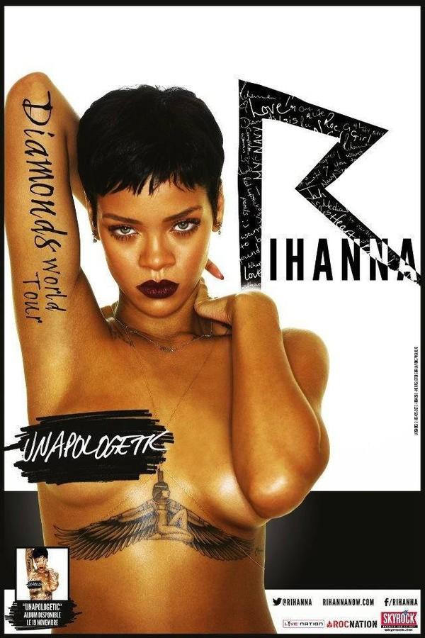 @Rihanna au STADE DE FRANCE avec #Skyrock !