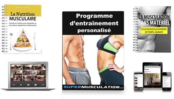 La musculation sans matériel. Programme de musculation à la maison et sans machine.