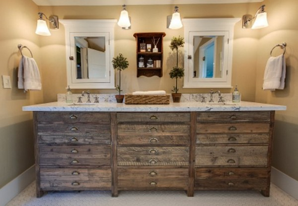 Rustic Bathroom Decor for Private Paradise | HomeDecorIn.com