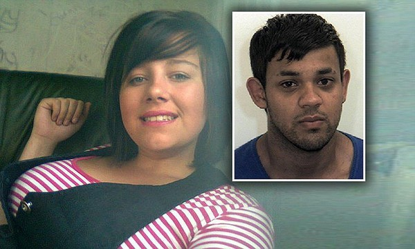 Britain's first white honour killing: Teen murdered by Muslim lover