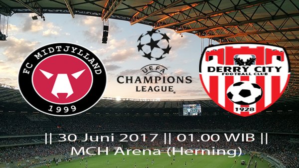 Prediksi Midtjyland vs Derry City, 30 Juni 2017