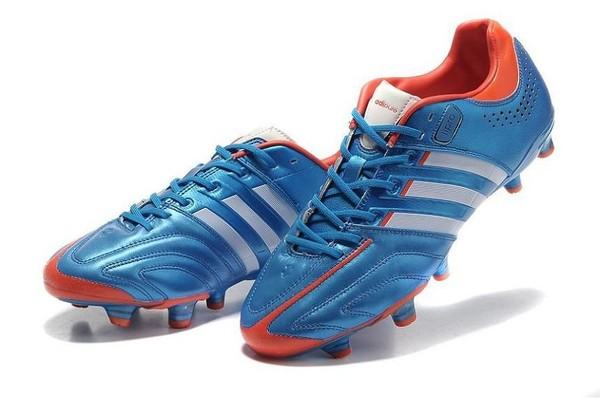 91029294ac5 Fußballschuhe adidas adipure 11Pro TRX FG – Blau Weiß Infrared - €57.99    fussballschuhe