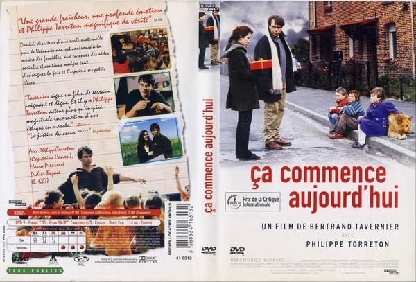 Jaquette DVD de Ca commence aujourd'hui - Cinéma Passion