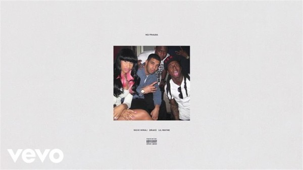 Nicki Minaj, Drake, Lil Wayne - No Frauds (Audio)