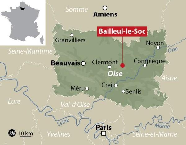Oise : quatre blessés dont un grave dans un accident impliquant un car scolaire