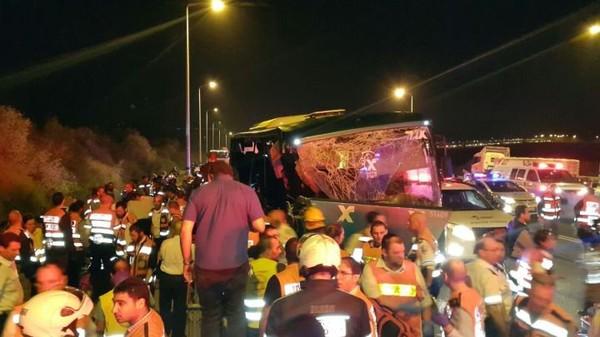 Israël: au moins 6 morts et des blessés dans un accident de la route