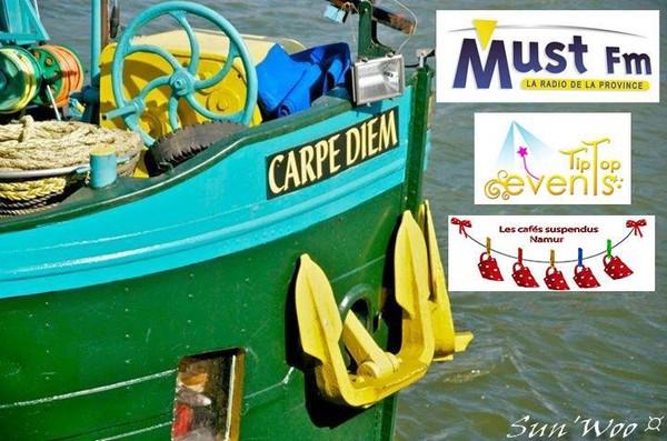 La Compagnie CARPE DIEM et son cabaret flottant