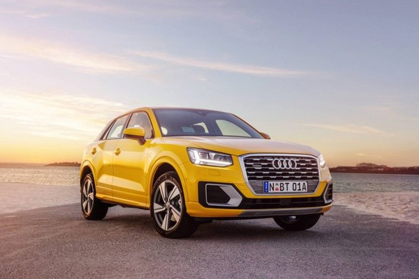 2018 Audi Q2 Small Crossover With All-Wheel Drive