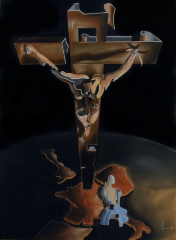 "Image - inspiration Dali "" Pastel des année 93 "" - L'OPPOSITIONISME"