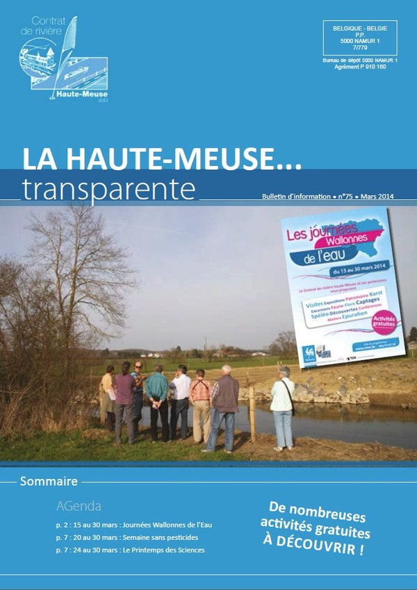 Contrat Rivière Haute Meuse