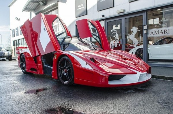 Only 38 Ferrari FXXs were built and one of them is up for sale