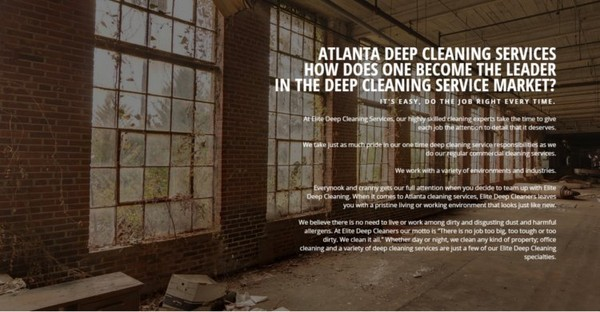 Deep Cleaning Services | Atlanta Deep Cleaning Services Company
