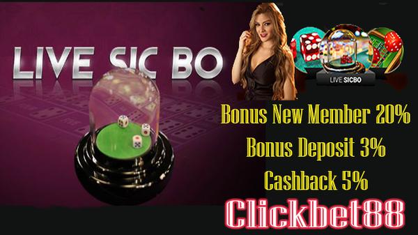 Agen Judi Casino Sicbo Sbobet Terpercaya Minimal Bet Seribu