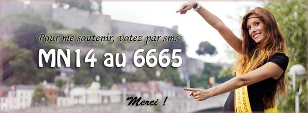 Miss Namur 2014 Candidate 14 Mandy Pascal