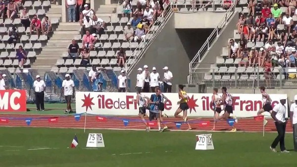 Nouredine Smail 3000m Steeple 2ème FRANCE ELITE 2013