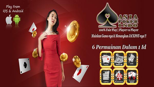 Nikmati bonus dari asia poker indo