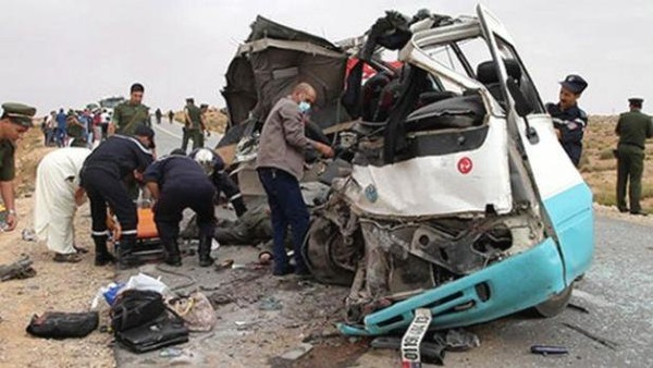 Algérie : terrible accident de la circulation dans le sud, 17 morts et 27 blessés