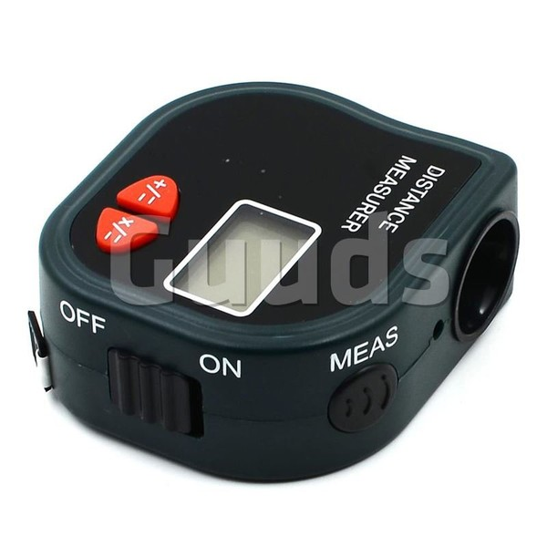 Ultrasonic Distance Measurer Length Measuring with Laser Point CP-3001 - Home Gadgets - Guuds