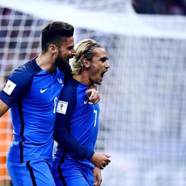 Instagram post by Equipe de France de Football • Sep 1, 2017 at 7:01pm UTC