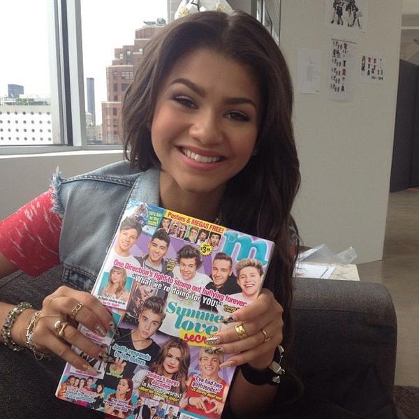 """Zendaya avec le """"m magazine"""" le 26/07"""