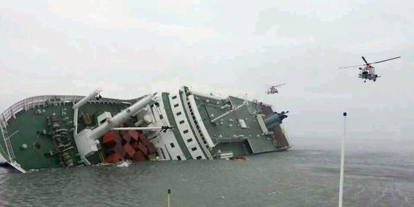 300 disparus dans le naufrage d'un ferry en Corée du Sud