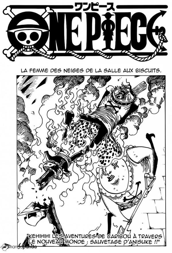 Lecture en ligne One Piece de chapitre, scan