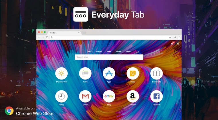 Upgrade your Chrome new tab page with a personal dashboard featuring weather, to-do, notes, beautiful backgrounds and more.