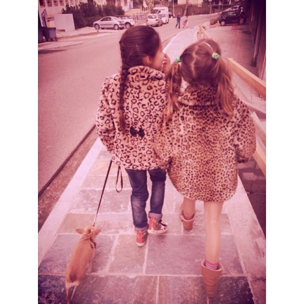 .@alizeeofficiel | Leopard friends @marinuccia2a | Webstagram