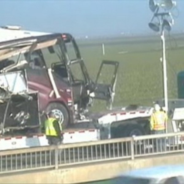 Accident de bus en Californie : le cauchemar d'Aldo et Virginie   France-Amérique