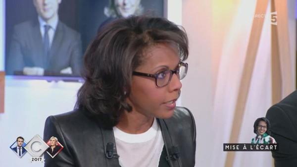 Suspendue par CNews, Audrey Pulvar émue en parlant de la montée du Front national