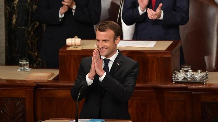 """DIRECT. """"Il n'y a pas de planète B"""", lance Emmanuel Macron devant le Congrès américain"""