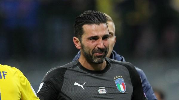 Melawan Swedia Menjadi Momen Berakhirnya Karir Buffon bersama Timnas Italy